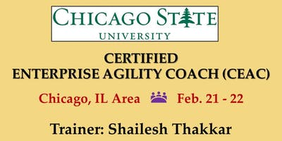 Certified Enterprise Agility Coach (CEAC) Training - Chicago State University (CSU)
