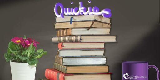 "Quickies: Creating the best QIP for the ""new"" NQF"