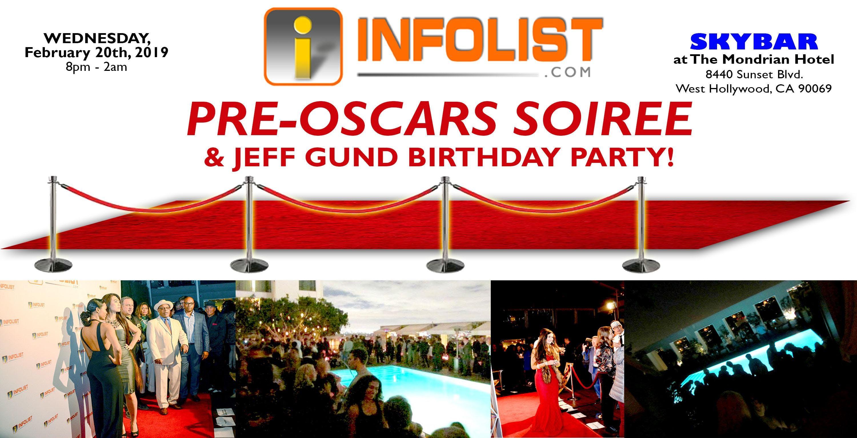 Red Carpet PRE-OSCAR SOIREE & Birthday Party
