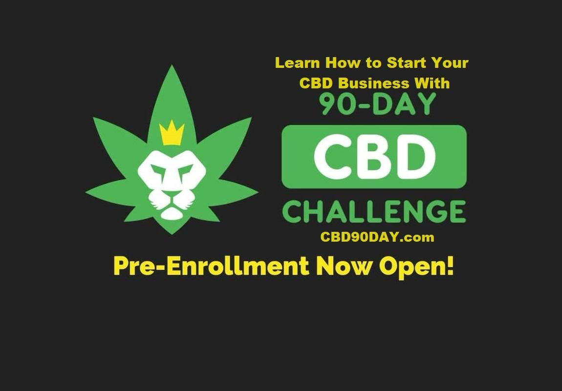 90-Day CBD Challenge Learn How to Start - Man