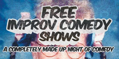 Free Improv Comedy Shows in Kakaako - June 1st 8pm & 9pm
