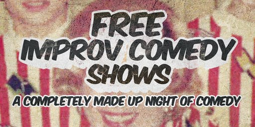 Free Improv Comedy Shows in Kakaako - July 6th 8pm & 9pm