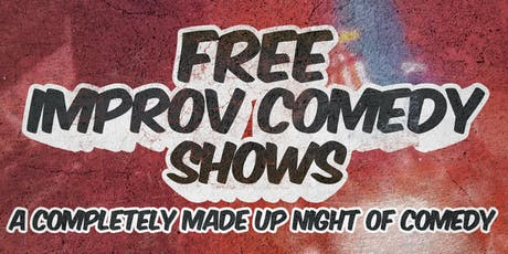Free Improv Comedy Shows in Kakaako - August 3rd 8pm & 9pm tickets