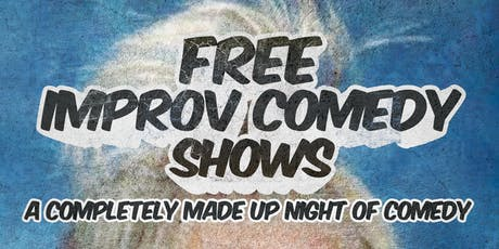 Free Improv Comedy Shows in Kakaako - Sept 7th 8pm & 9pm tickets