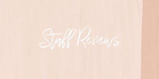 STAFF REVIEWS - QLD