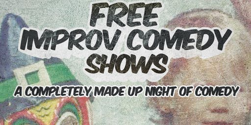 DATE CHANGE! Free Improv Comedy Shows in Kakaako - Oct 12th 8pm & 9pm