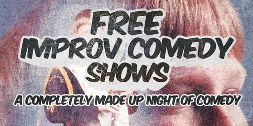 Free Improv Comedy Shows in Kakaako - Nov 2nd 8pm & 9pm