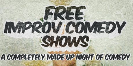 Free Improv Comedy Shows in Kakaako - Dec 7th 8pm & 9pm tickets