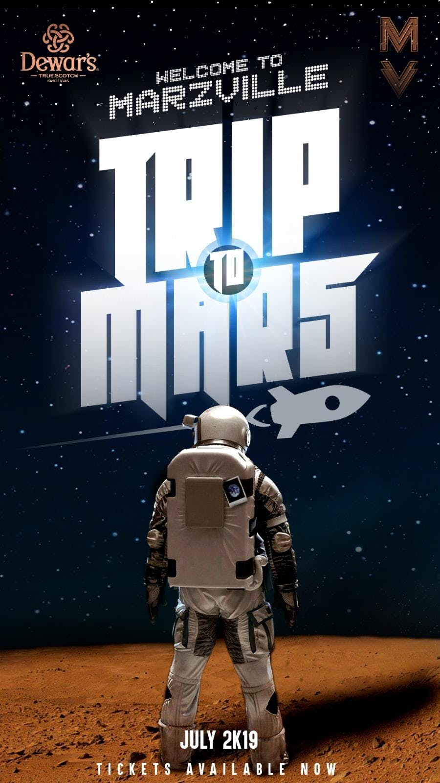 Welcome To Marz Ville, Trip To Mars