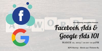 KPUMA Presents: Facebook Ads & Google Ads 101