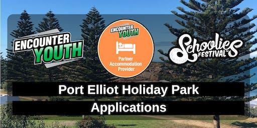 Schoolies Festival 2019 - Port Elliot Holiday Park - Applications