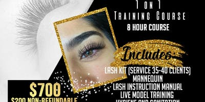 Learn to Lash Eyelash Extension Course