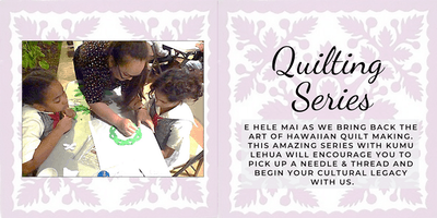 Quilting Series - Attend All Four