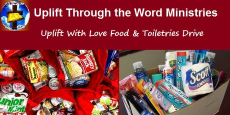 Uplift With Love Food & Toiletries Drive tickets