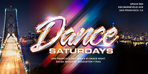 Dance Saturdays - Bachata (Main Room) plus Salsa y Mas plus Dance Lessons for ALL at 8:00p