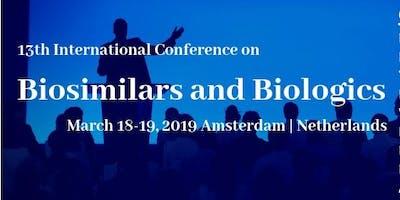 13th International Conference on Biosimilars and Biologics