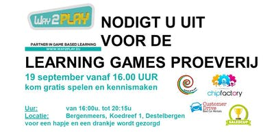 Proeverij met 4 live business games - 19 september 2019