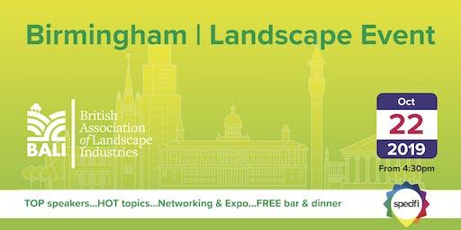 Specifi Birmingham - LANDSCAPE EVENT