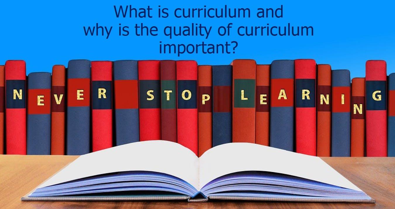 Curriculum Lead Programme: An Evidence Based Approach to Curriculum Development