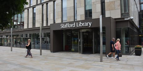 Stafford Library Work Club tickets