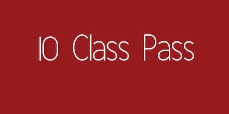 10 Class Pass - Yoga with Grace Tullamarine tickets