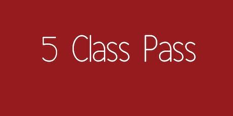 5 Class Pass - Yoga with Grace Tullamarine tickets