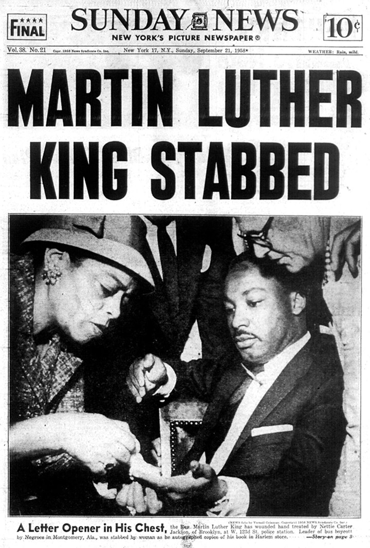THE DAY HARLEM SAVED DR. KING image