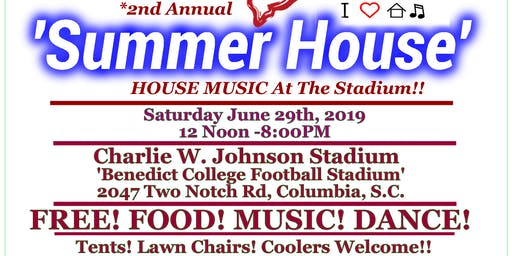 FREE Summer House Music At The Stadium