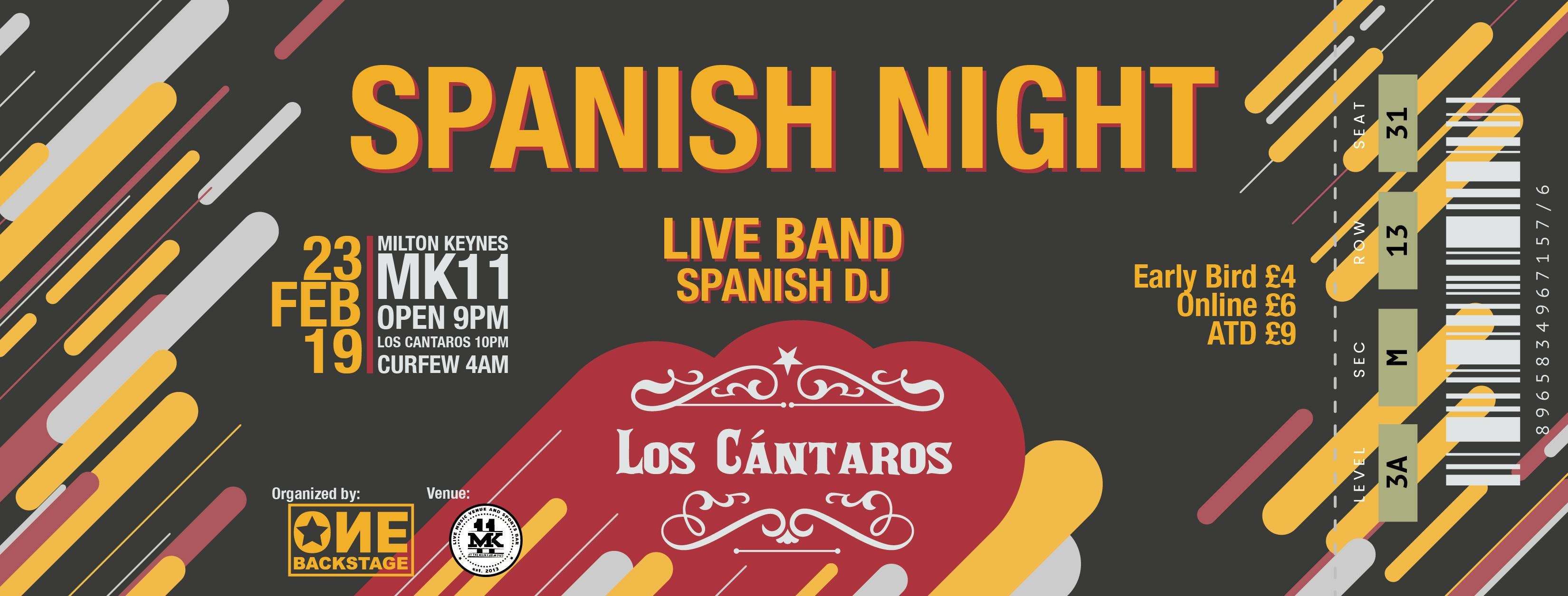 Spanish Night MK - Los Cantaros