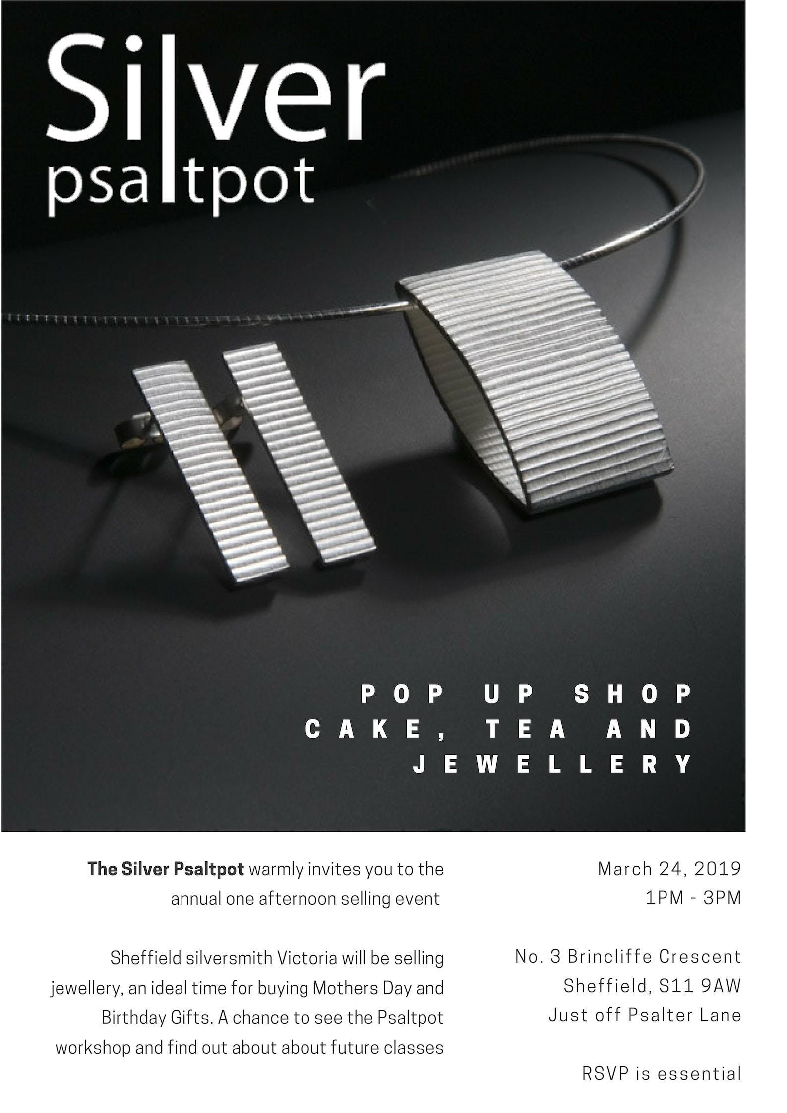 Silver Jewellery Pop-Up Shop