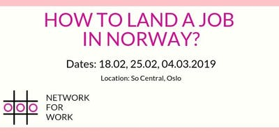 How to Land a Job in Norway - Learning The Language While Looking For A Job