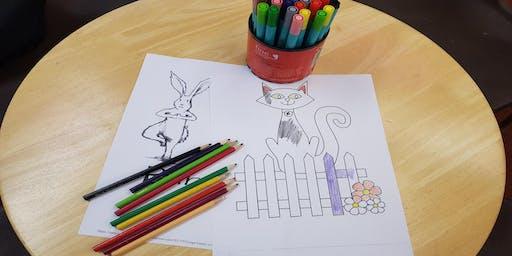 Children's colouring competition (Rishton)