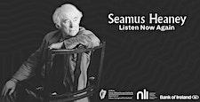 Seamus Heaney: 'Listen Now Again' logo