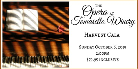 Tomasello Winery's Harvest Opera Gala tickets