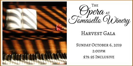 Tomasello Winery's Harvest Opera Gala