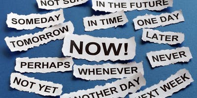 Defeating Procrastination | CC - Curzon 192  | 14:00 - 15:00 | Thursday 21st March