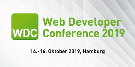 WDC - Web Developer Conference 2019  Tickets