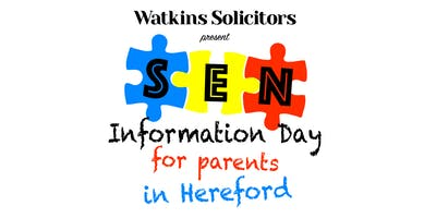 SEN Information Day for Parents in Hereford