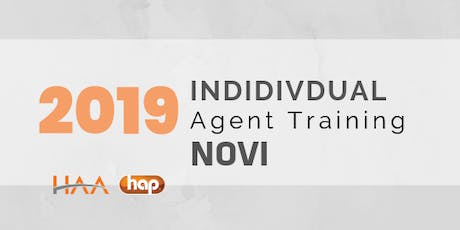 HAP Agent Training with HAA: Individual PM - NOVI tickets