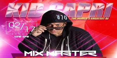 Kid Capri Mix Master All-Star Brunch & Day Party Finale