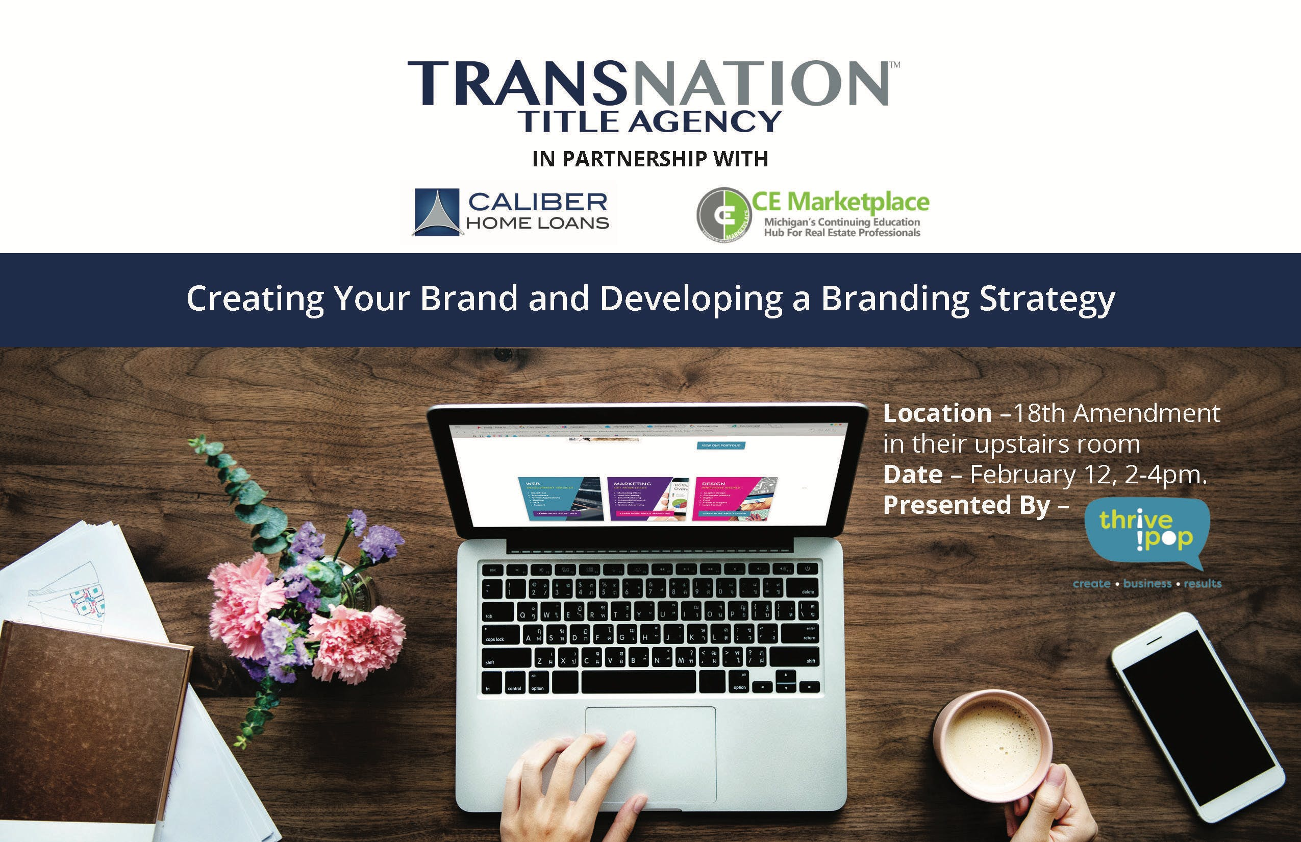 Creating Your Brand & Developing a Branding Strategy-Muskegon