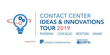 Contact Center Ideas & Innovations Tour Boston  tickets