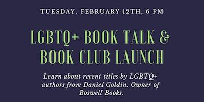 LGBT+ Book Talk & Book Club Launch