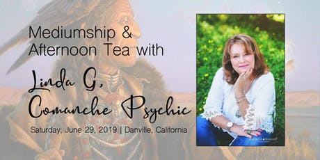 Mediumship & Afternoon Tea with Linda G, Comanche Psychic tickets
