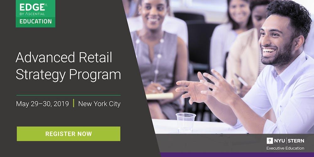 Advanced Retail Strategy Program Nyu Stern Registration Wed May