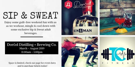 T.C. Fitness Presents: Sip & Sweat Saturdays tickets