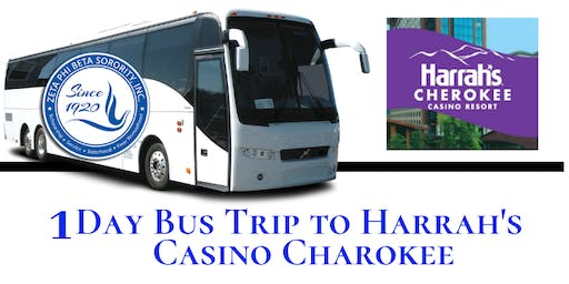 1 Day Bus Trip to Harrah's Casino Charokee