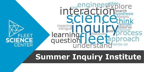 Summer Inquiry Institute 2019 (Educator Workshop) tickets