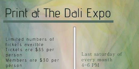 Print at The Dali Expo tickets