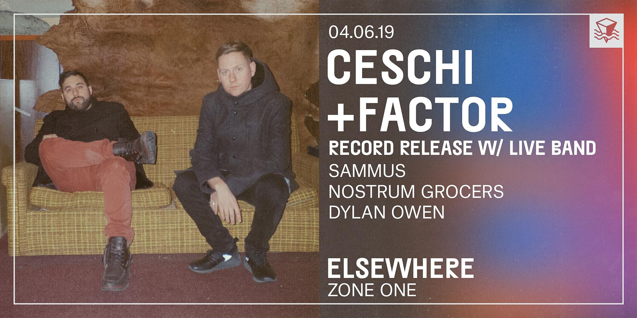 Ceschi Ramos with Factor Chandelier + Band (Record Release!)